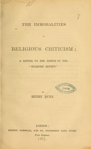 The immoralities of religious criticism