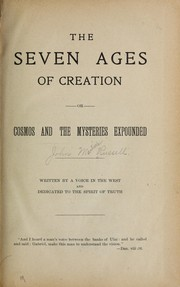 Cover of: The seven ages of creation | John Martin] Russell