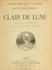 Cover of: Clair de lune