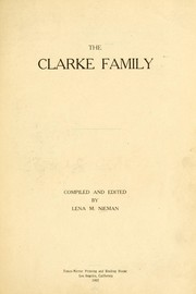 Cover of: The Clarke family