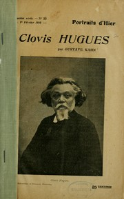 Cover of: Clovis Hugues