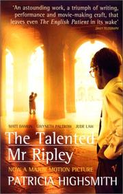 Cover of: The Talented Mr Ripley (Film Tie-in)