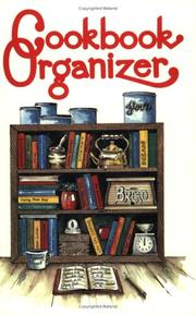 Cover of: Cookbook Organizer