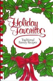 Cover of: Holiday Favorites