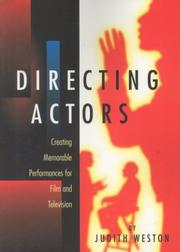 Cover of: Directing Actors