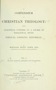 Cover of: A compendium of Christian theology
