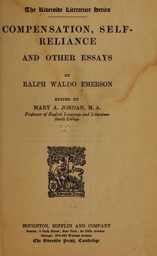 a description of self reliance by ralph waldo emerson