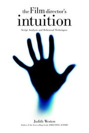 Cover of: The film director's intuition