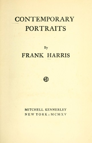 Contemporary portraits.