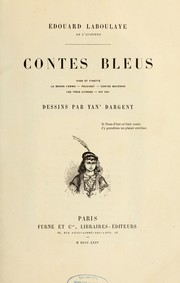 Cover of: Contes bleus