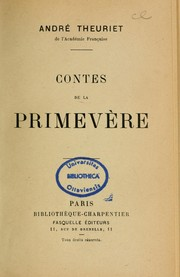 Cover of: Contes de la primevère ...