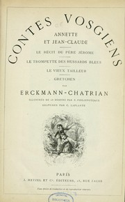 Cover of: Contes vosgiens