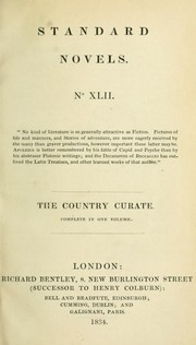 Cover of: The country curate