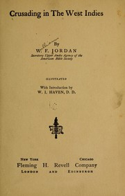 Cover of: Crusading in the West Indies