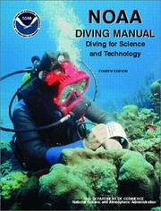 Cover of: NOAA diving manual
