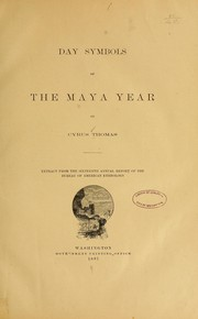 Cover of: Day symbols of the Maya year