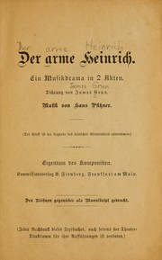 Cover of: Der arme Heinrich