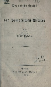 Cover of: Der epische Cyclus