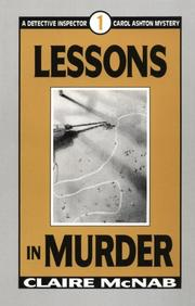 Cover of: Lessons in murder