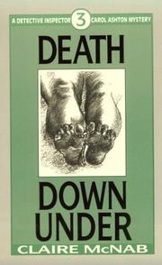 Cover of: Death down under
