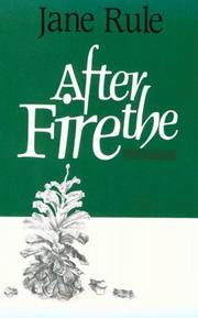 Cover of: After the fire