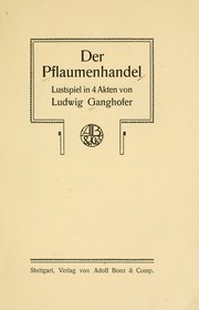 Cover of: Der Pflaumenhandel