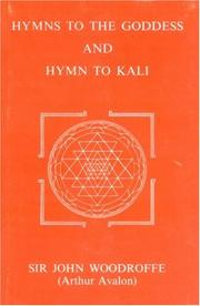 Cover of: Hymns to the Goddess and hymn to Kali |