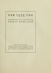 Cover of: Der Tote Tag