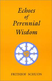 Cover of: Echoes of perennial wisdom