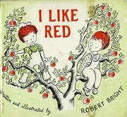 Cover of: I like red