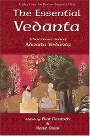 Cover of: The essential Vedanta |