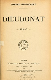 Cover of: Dieudonat