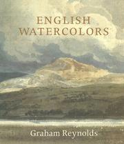 Cover of: English watercolors | Graham Reynolds