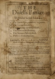 The diuells banket by Adams, Thomas
