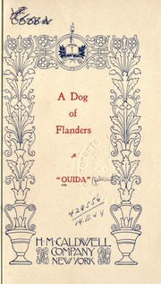 Cover of: A dog of Flanders [by] Ouida