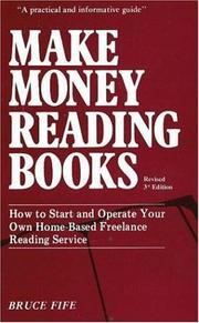 Make money reading books by Bruce Fife
