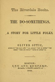 Cover of: The Do-Somethings