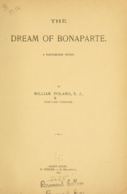 The dream of Bonaparte by William Poland