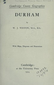 Cover of: Durham