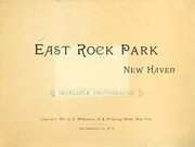 Cover of: East Rock park, New Haven |