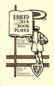 Cover of: E. B. Bird: his book plates | Elisha Brown Bird
