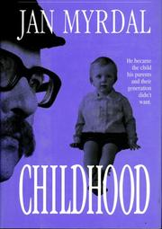 Cover of: Childhood
