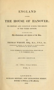 Cover of: England under the house of Hanover