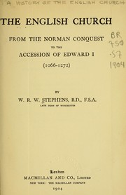 Cover of: The English church