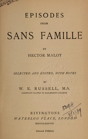Cover of: Episodes from Sans famille