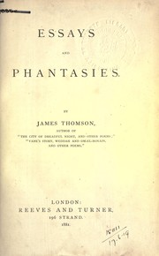 Cover of: Essays and phantasies
