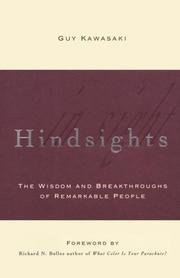 Cover of: Hindsights