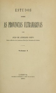 Cover of: Estudos sobre as províncias ultramarinas