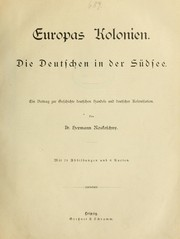 Cover of: Europas Kolonien
