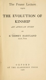 Cover of: The evolution of kinship